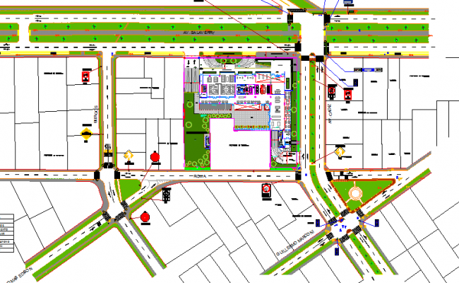 Fourth floor layout plan details of offices of unique dwg file