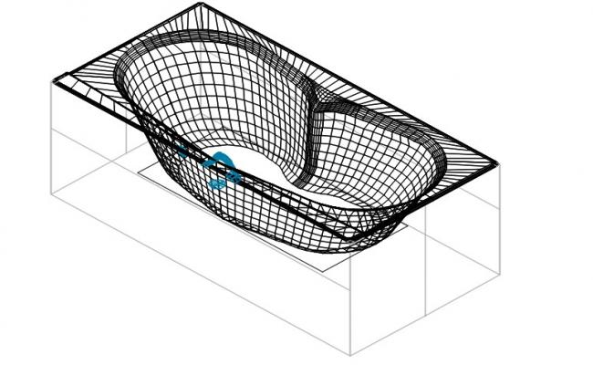 Fragata acrylic bath tub