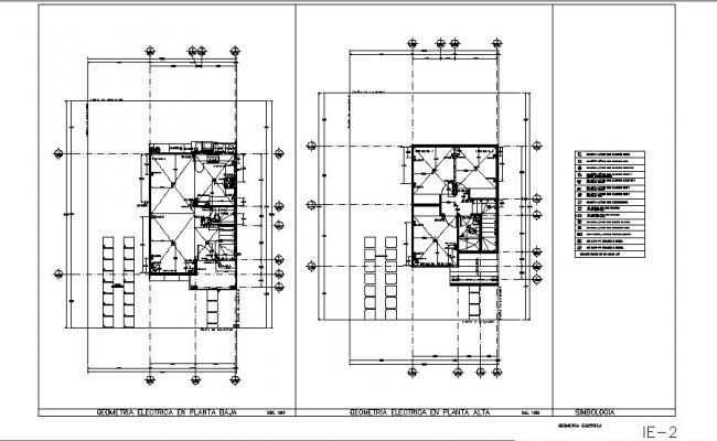 Framing plan details of housing floors cad drawing details dwg file