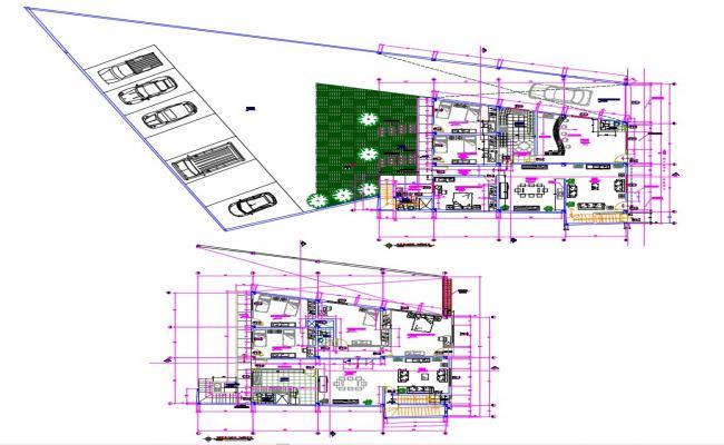 Free download House plan DWG