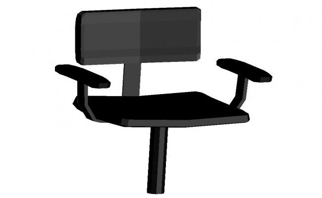 Free 3d Chair CAD Block