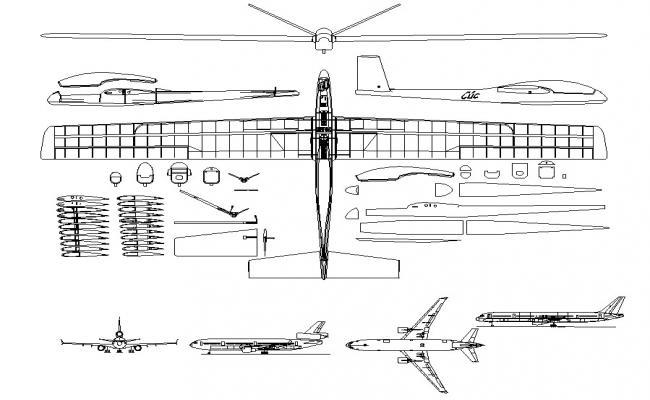 Free Aircraft CAD Blocks