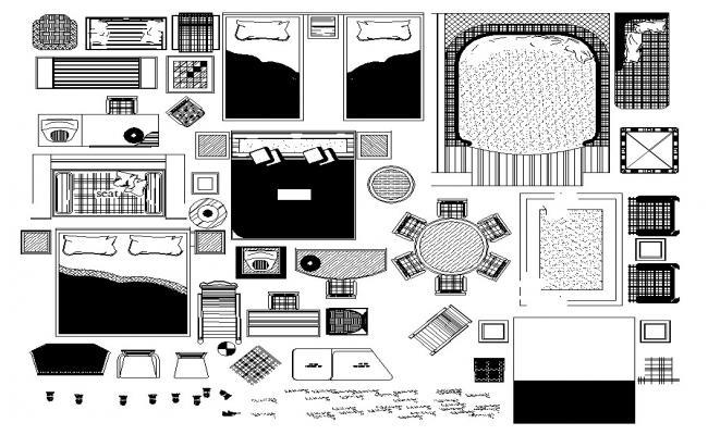 Free AutoCAD Furniture Blocks