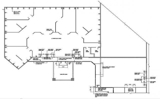 Free Building Plan DWG File