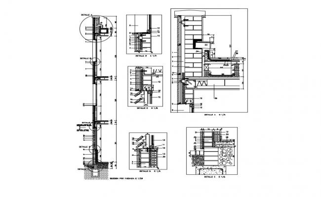 Free Construction Details In AutoCAD Drawings