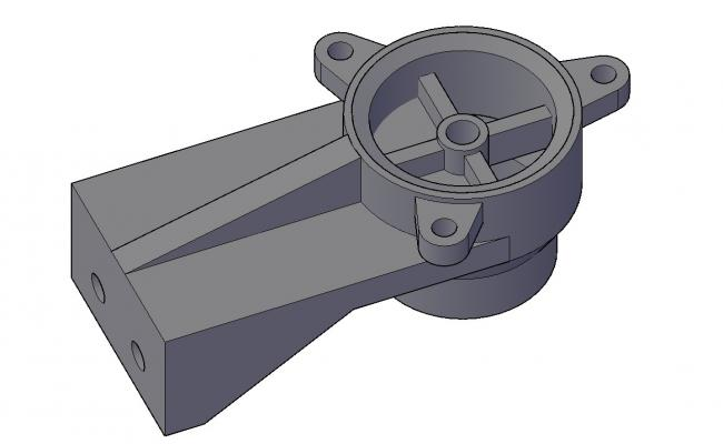 Free Download 3D CAD Drawing Of Mechanical Machine CAD File