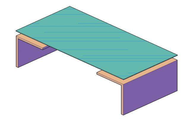Free Download 3D Table Design