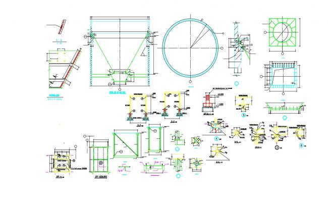 Free Download Beam Column Joint Reinforcement Design AutoCAD File