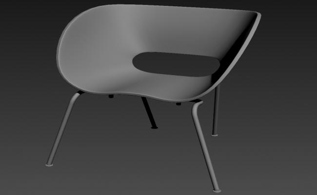 Free Download Chair Furniture Block 3ds Max File