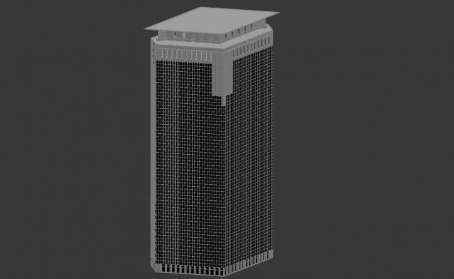 Free Download Commerce Building Design Max File