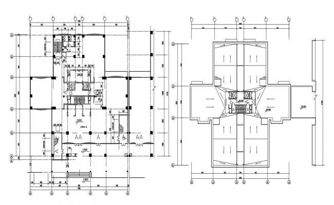 Free Download Commercial Building Design Plans AutoCAD File