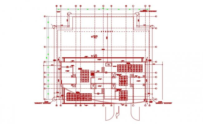 Free Download Commercial Building Floor Plan  AutoCAD File