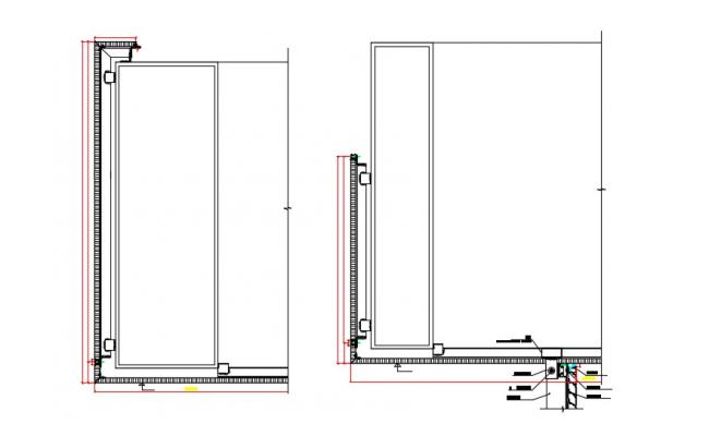 Free Download Elevation drawing of building in AutoCAD