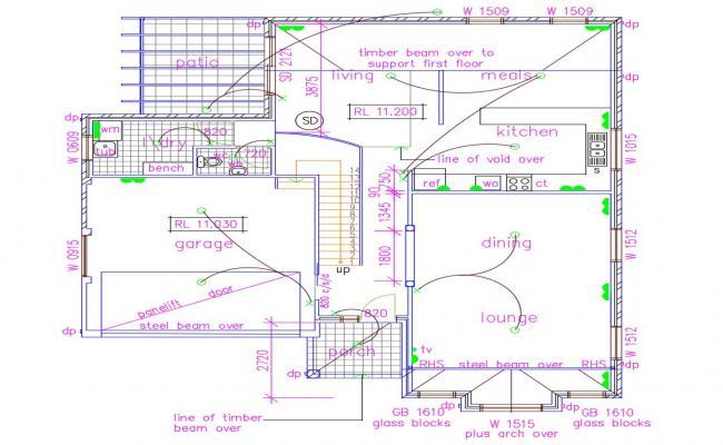 Free Download Ground Floor House Plan