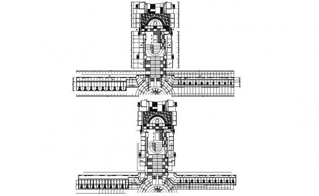 Free Download Hotel AutoCAD Plan