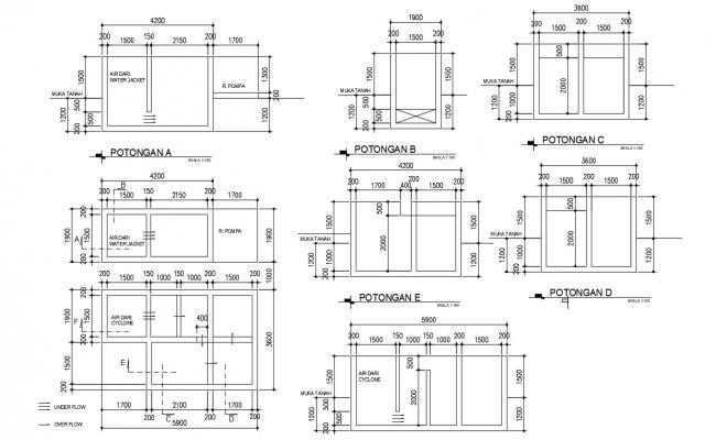 Free Download Plumbing Layout Plan AutoCAD File