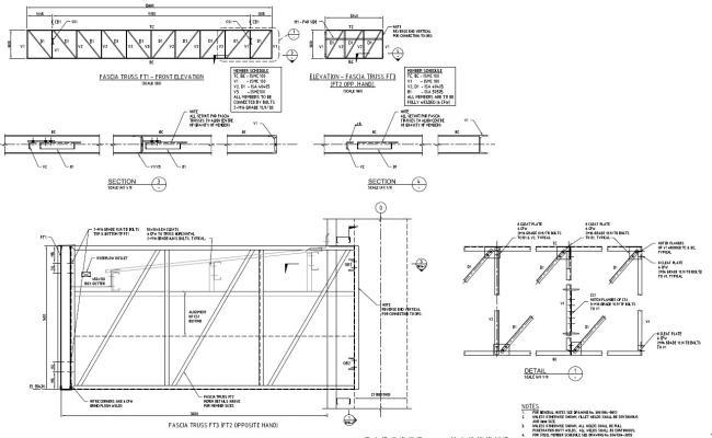Free Download Steel Truss Connection Design PDF File