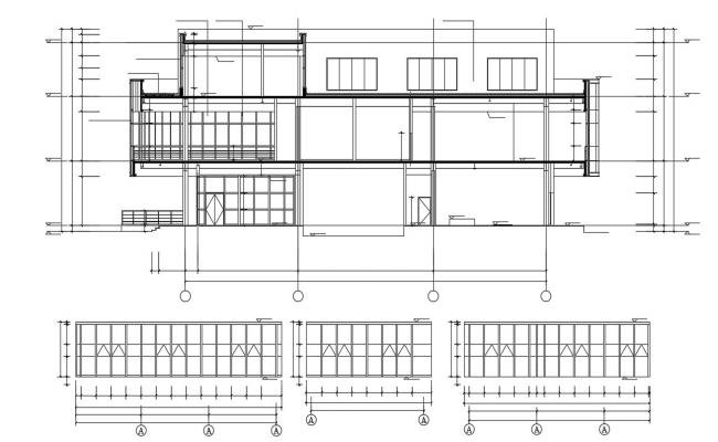 Free Download The Residential Building Section Drawing AutoCAD File