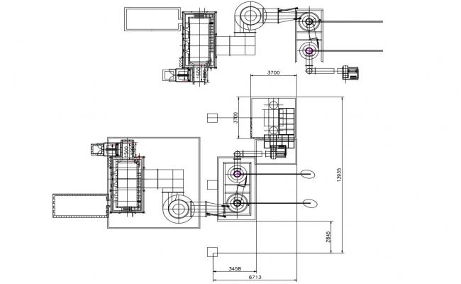 Free Download The Solar Machine Fixing Design AutoCAD File