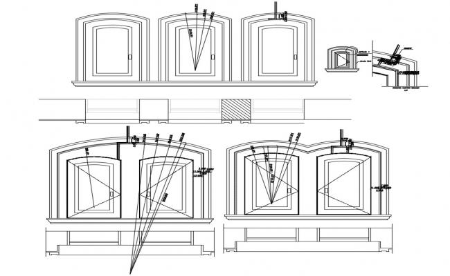 Free Window Elevation Drawing