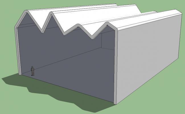 Free download Roof Shade Design 3d model