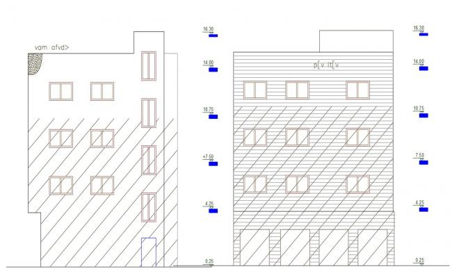 Free Download 3 Storey Apartment House Building Design