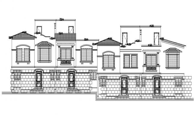 Front Elevation Design Of Twin House