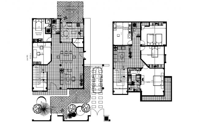 Furnished Bungalow Design Architecture Plan