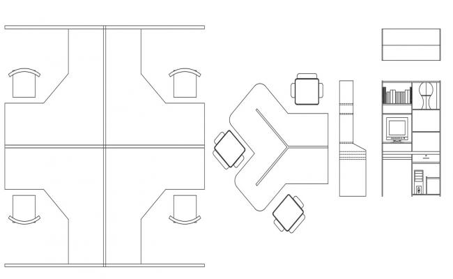 Furniture CAD Blocks Download CAD Drawing