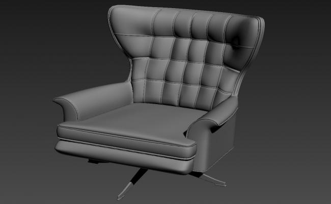 Furniture Office Chair 3d Model Free Download Max file