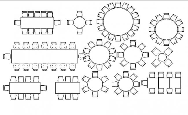 Free CAD Blocks furniture in DWG format