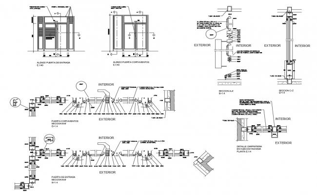 Furniture details in AutoCAD