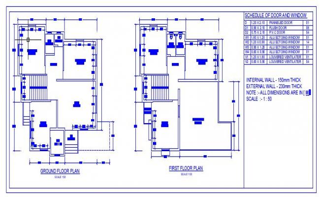 House Plan Specifications