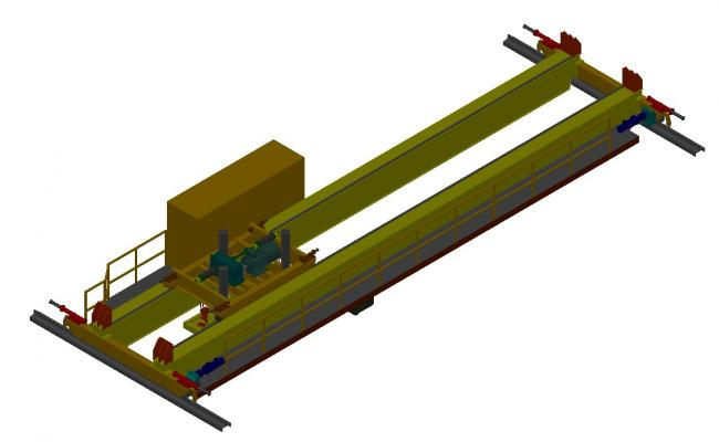 Gantry Girder 3d Design