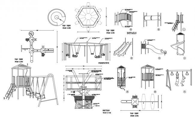 Garden CAD Blocks Free Download