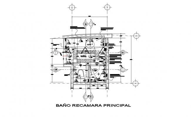 Garden Design Plans In AutoCAD File