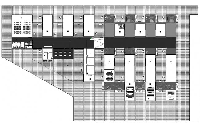 General Health Center New Plant Elevation, Structure Details dwg file