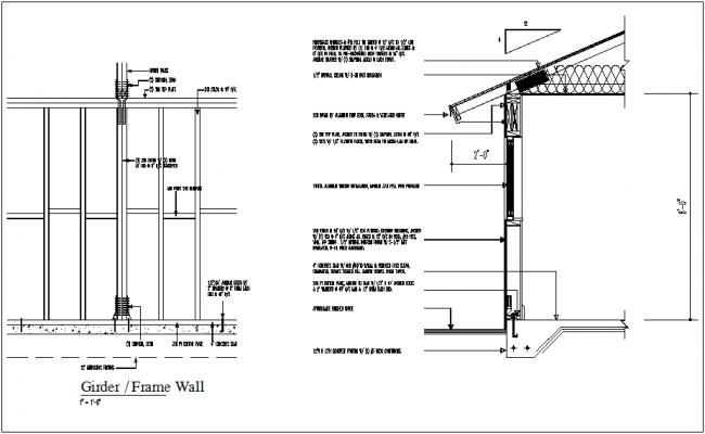 Nana Wall Section Detail Gypsum Construction – Desenhos Para Colorir