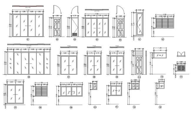 Glass Door and Window Design