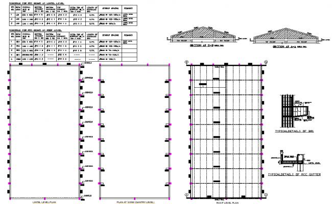 Glass factory plan detail