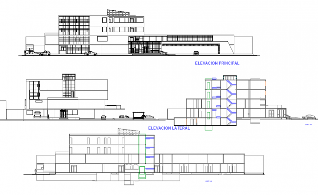 Government Building Elevation design