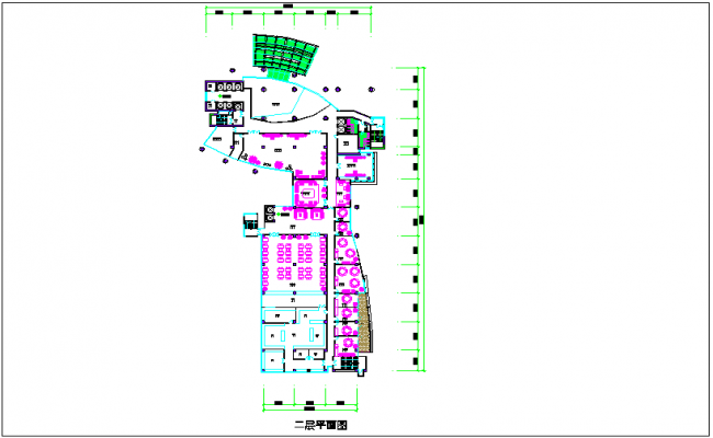 Government Power Company grid production scheduling floor plan dwg file
