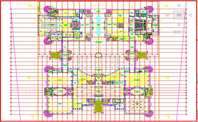 Ground floor furniture layout