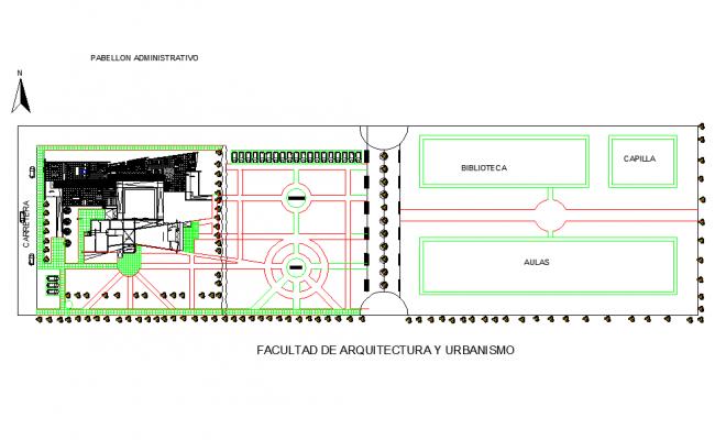 Ground floor plan detail dwg file