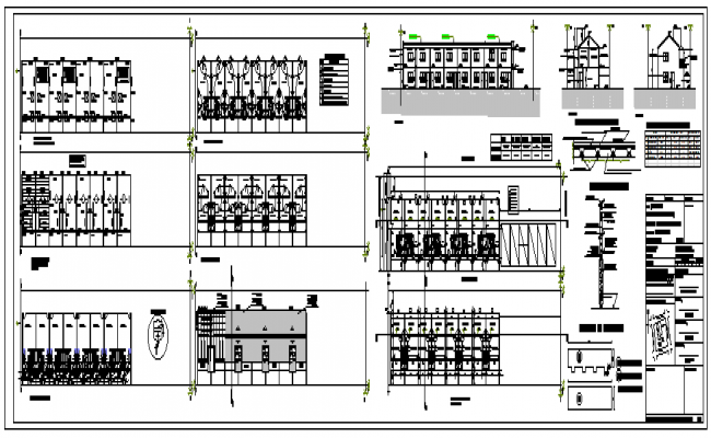 Group habitation weight units design drawing