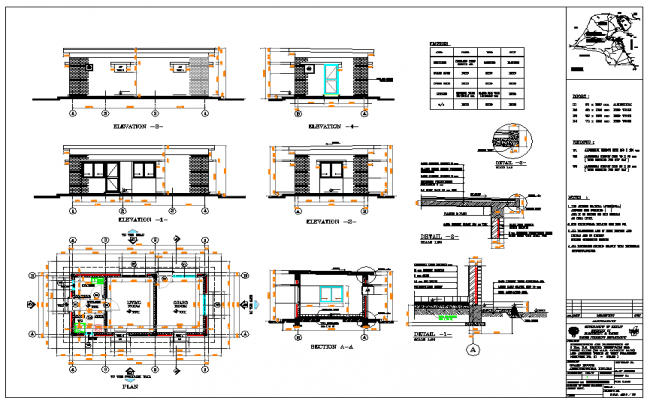 House Design DWG file