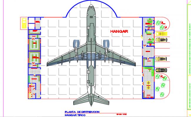 Hangar - large aircraft