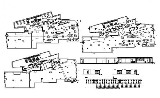 Health Center Plan DWG File