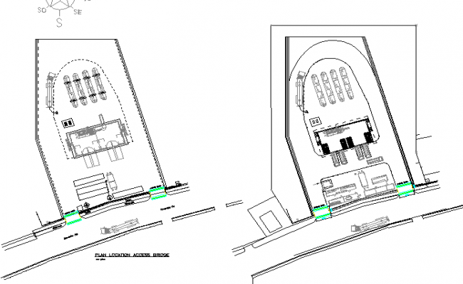 Heavy vehicle ramp construction details dwg file