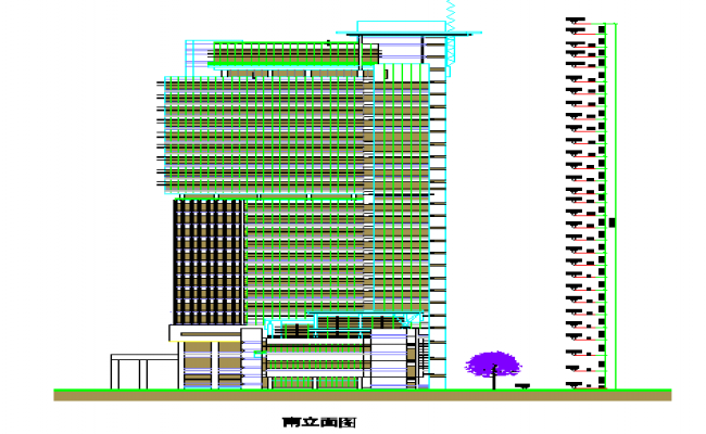 High - Rise Building Elevation